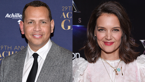 A-Rod Was Just Seen Leaving Katie Holmes' Apartment After J-Lo & Ben's Reunion   StyleCaster