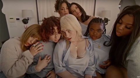 Billie Eilish Had the Best Reaction to Her Wardrobe Malfunction in Her Newest Music Video | StyleCaster