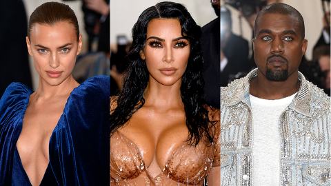 Here's Kim's Opinion of Irina Shayk Before She Started Dating Kanye—& Whether It's Changed | StyleCaster