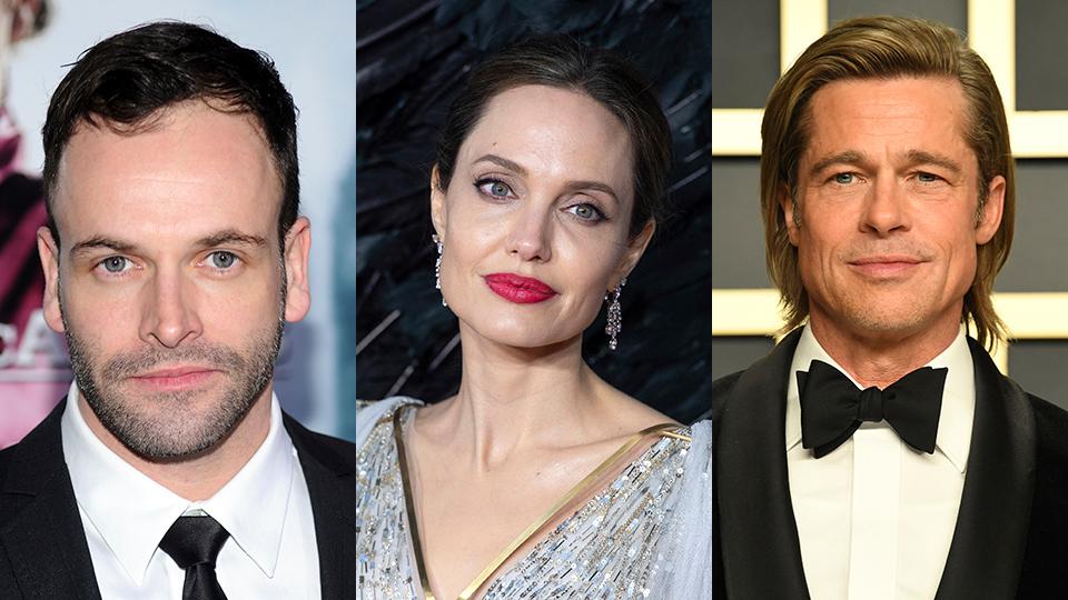 Jonny Lee Miller, Angelina Jolie, Brad Pitt