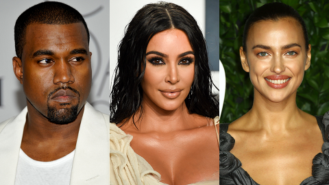 Here's What Kim Really Thinks of Kanye Moving 'On' With Irina So Soon After Their Divorce | StyleCaster