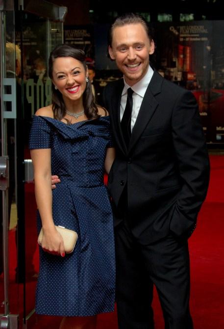 Susannah Fielding, Tom Hiddleston