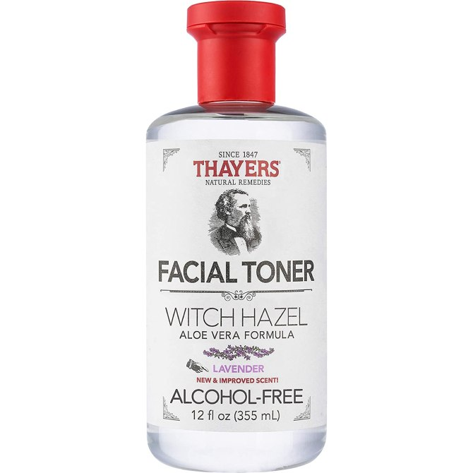 Thayers Alcohol Free Lavender bottle Zendayas Fave Rose Petal Toner Is On Sale For Amazon Prime Day