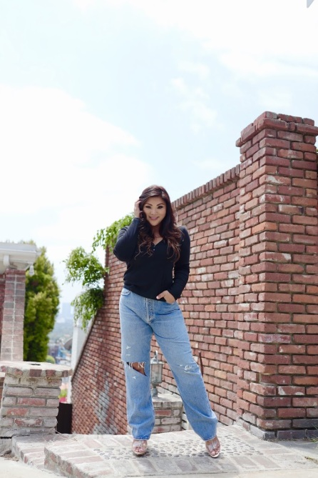 STYLECASTER |  Jeans a gamba dritta per curve