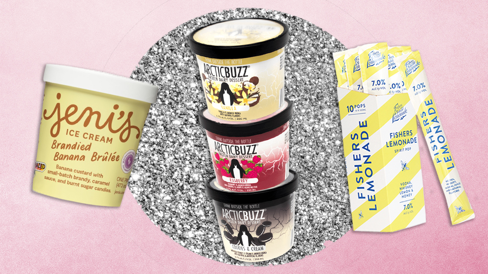 10 Boozy Ice Creams & Sorbets For Summer Fridays & Beyond