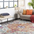 This Huge Boho Rug Is Less Than $100 During Amazon...