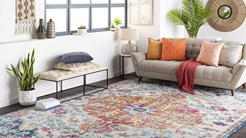 Amazon Just Casually Put The Oversized Rug Of Our Dreams On Sale For 70% Off   StyleCaster