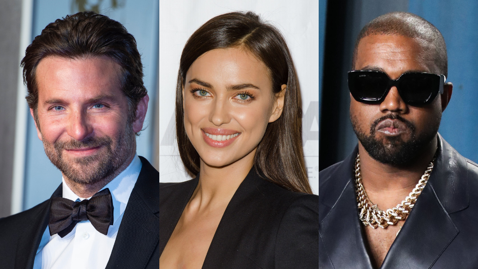Bradley Cooper, Irina Shayk, Kanye West