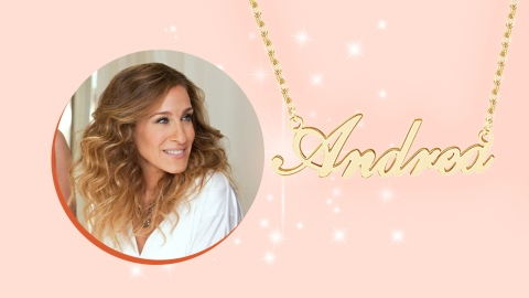 10 Name Necklaces To Help You Channel Your Inner Carrie Bradshaw | StyleCaster