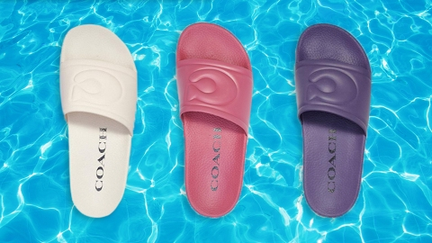 Coach Turned The Pillow Tabby Into The Most Perfect Puffy Pool Slides | StyleCaster