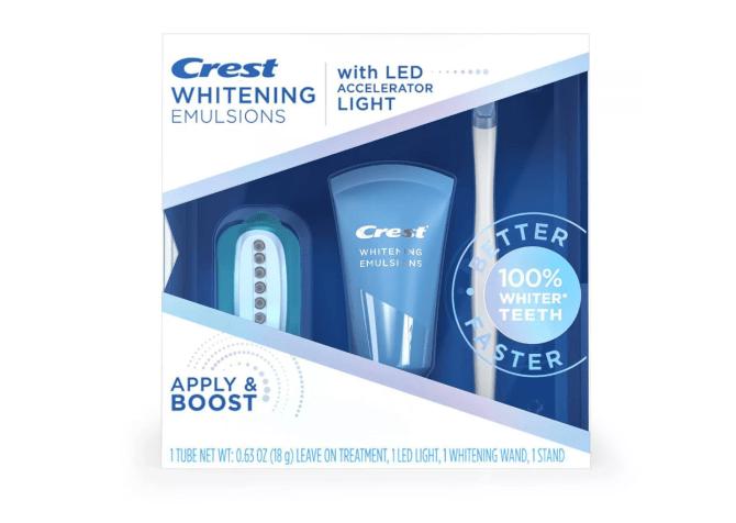 Crest Whitening Emulsions Leave-on Teeth Whitening Treatment