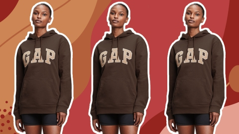 Gap Debuted Their Iconic Hoodie In A Limited-Edition Brown Hue | StyleCaster