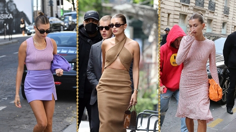 Hailey Bieber's Paris Street Style Game Is Totally Unmatched | StyleCaster