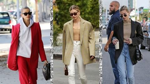 Damn, Hailey Bieber Really Loves A Good Blazer | StyleCaster