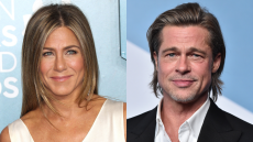 Jennifer Aniston Just Revealed if There's Still Any 'Oddness' Between Her & Brad Pitt After Their Divorce