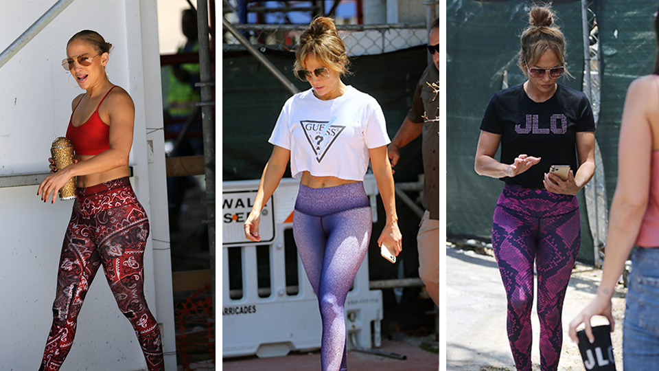 J.Lo Has Me Convinced That Patterned Leggings Are Making A Comeback