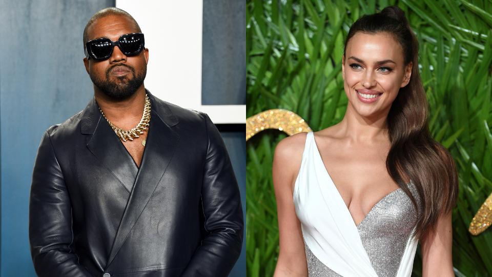 Kanye West Irina Shayk Relationship 2021 Post Kim Kardashian Divorce Stylecaster