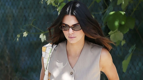 Kendall Jenner Has No Business Looking So Hot In A Menswear Vest | StyleCaster