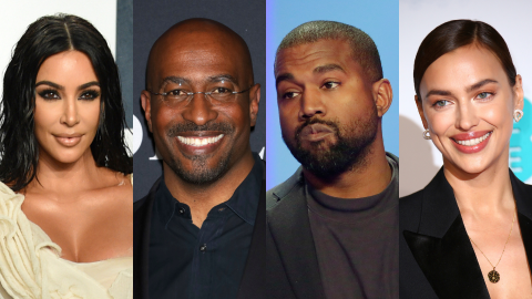 Kanye Moving On With Irina Makes Dating 'Easier' for Kim Amid Rumors She's With Van Jones | StyleCaster