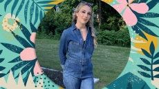 This Denim Jumpsuit Has Me Ready To Embrace Easy Summer Dressing