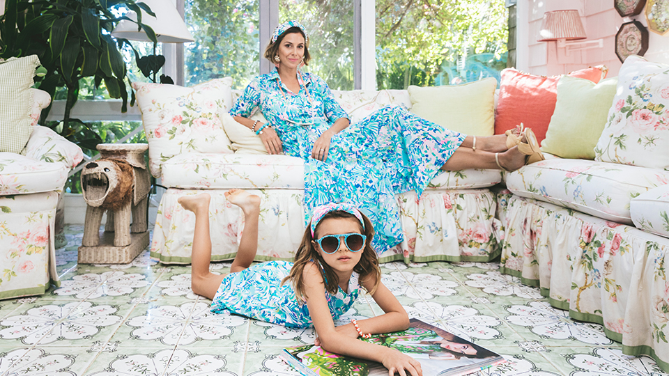 Lele Sadoughi x Lilly Pulitzer Is A Match Made In Beach Prep Heaven