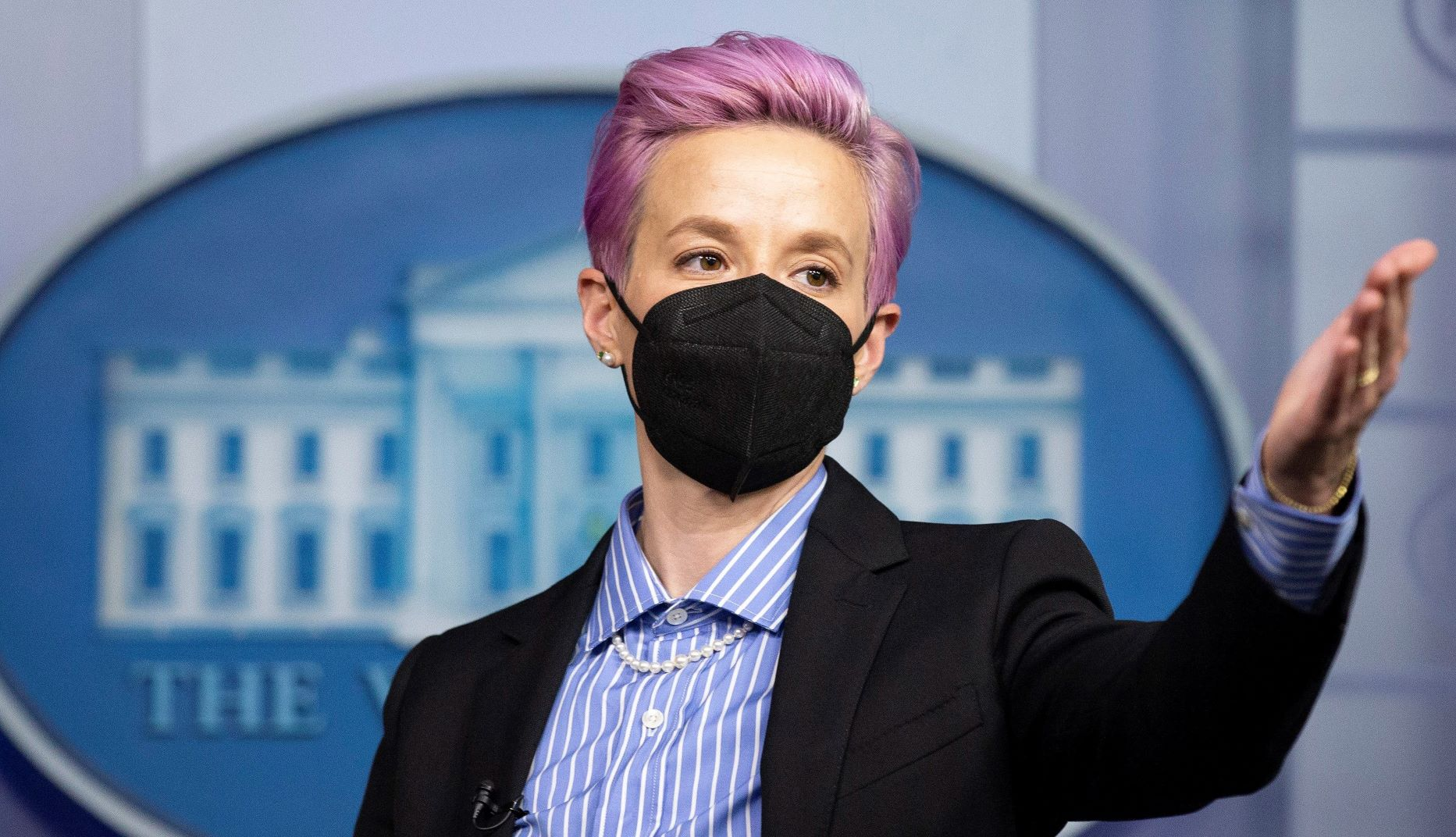 How Megan Rapinoe Finds Time To Win at Everything and Fight The Power