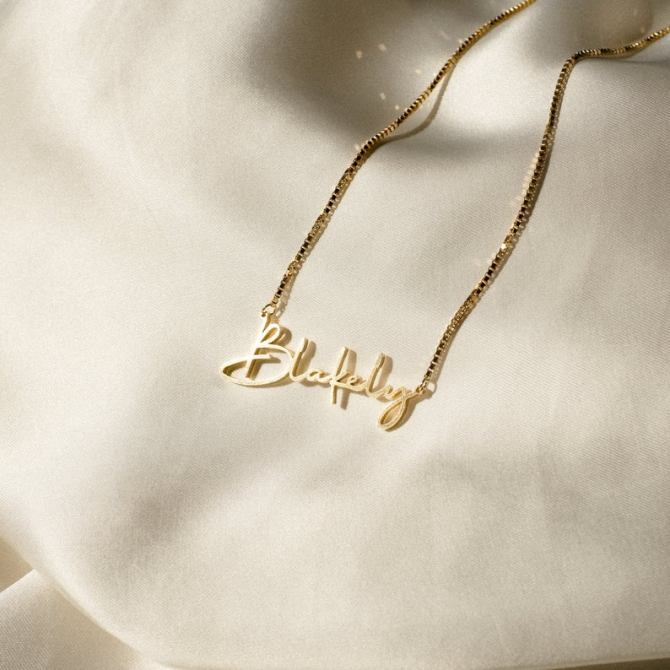 StyleCaster | Name Necklaces