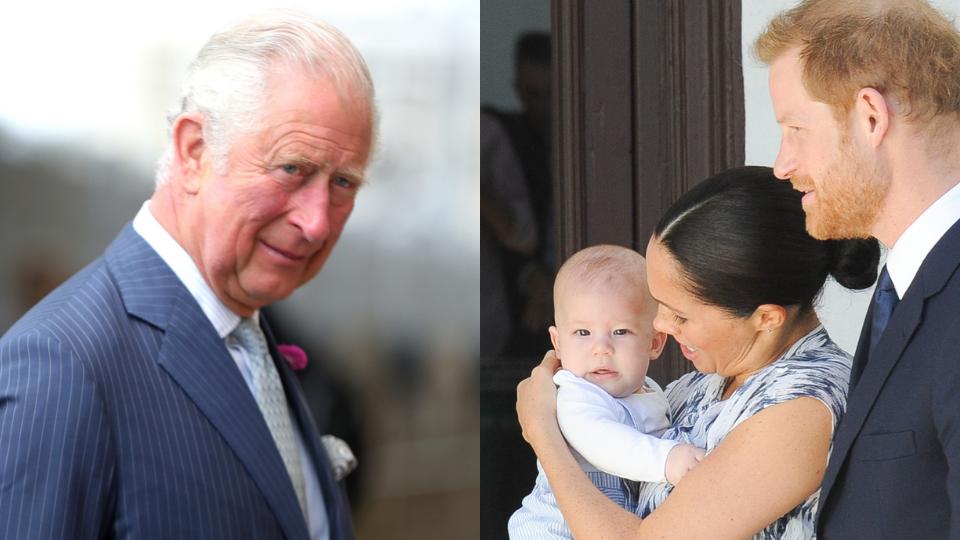 Prince Charles, Archie, Meghan Markle, Prince Harry