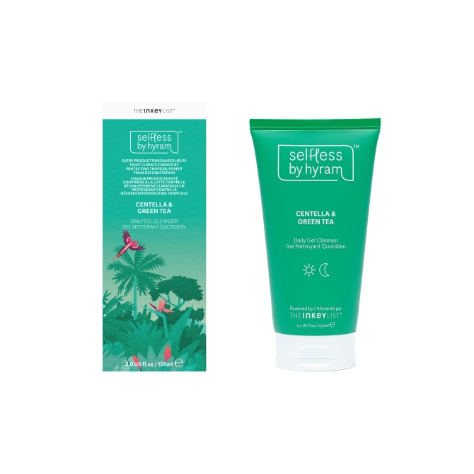 selfless centella green tea hydrating gel cleanser The One Thing Hyram Yarbro Wants You To Stop Doing To Your Skin