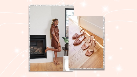 Uoma's Sharon Chuter Just Launched The Cutest Summer Shoe Collection With JustFab | StyleCaster