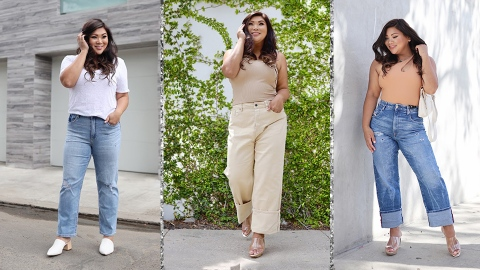 The Best Curve-Friendly Straight-Leg Denim To Live Out Your '90s Fantasy | StyleCaster