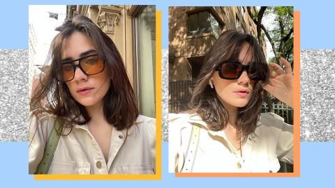 I Tried The Tinted Sunnies Kaia Gerber, Dua Lipa & More Celebs Swear By | StyleCaster