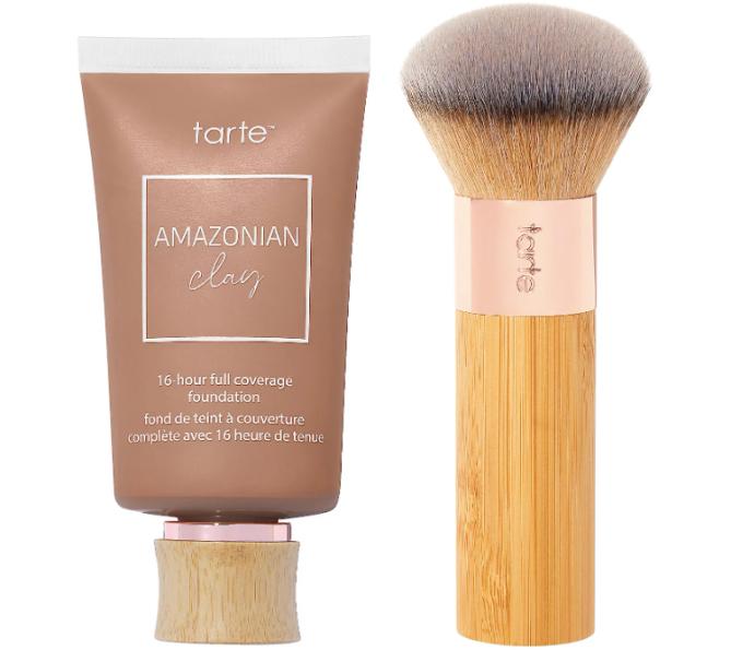 tarte foundation with brush