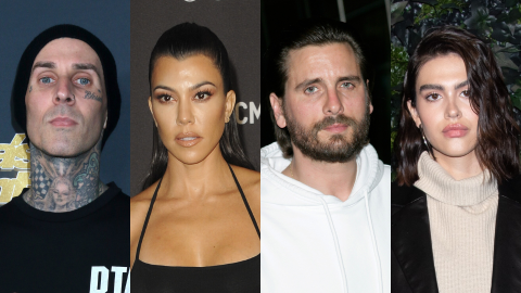 Travis Just Shaded Scott & Amelia's 18-Year Age Gap After Their Double Date With Kourtney | StyleCaster