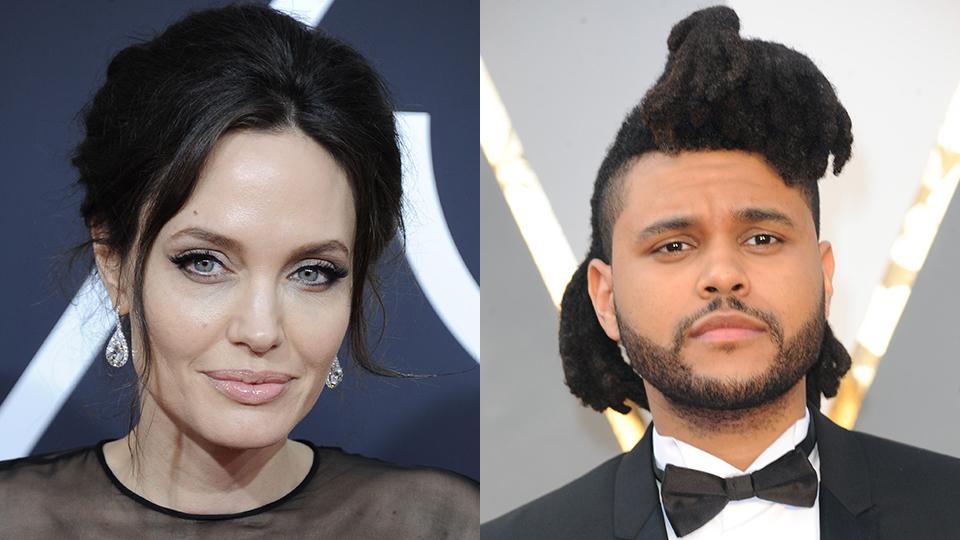 Angelina Jolie, The Weeknd
