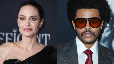 Angelina Jolie & The Weeknd Just Had a 2.5 Hour Dinner Before Going Back to His House Together