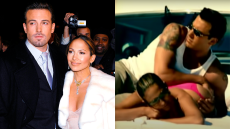 J-Lo & Ben Just Recreated That Butt Rubbing Scene From the 'Jenny From the Block' Video