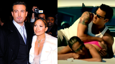 J-Lo & Ben Just Recreated That Butt Rubbing Scene From the 'Jenny From the Block' Video | StyleCaster