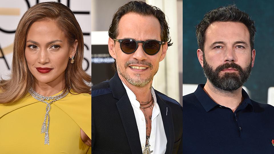 Jennifer Lopez, Marc Anthony, Ben Affleck