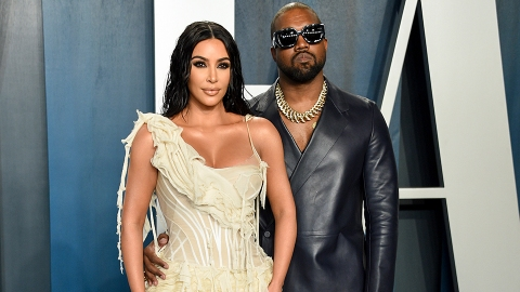 Here's the Truth That Kanye Compared His Marriage With Kim to 'Prison' in a New Song | StyleCaster