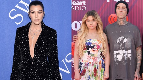 Travis' Daughter Just Called Kourtney Her 'Stepmom' After Rumors They're Secretly Engaged | StyleCaster