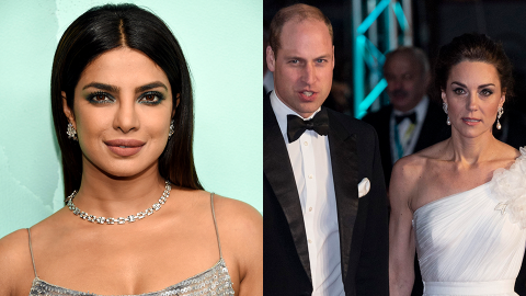 Priyanka Chopra Is Accused of Shading Will & Kate Because of Her Friendship With Meghan | StyleCaster