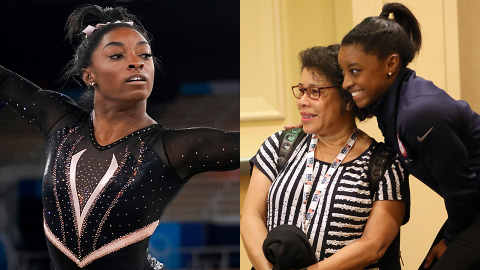 Simone Biles Went From Foster Care to the Olympics—Meet the Parents Who Raised Her | StyleCaster