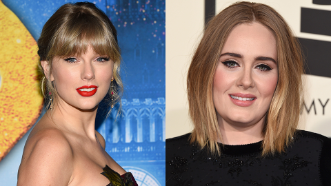 Taylor Swift Wrote a Song With Adele & Fans Think It'll Be on Her Next Album | StyleCaster