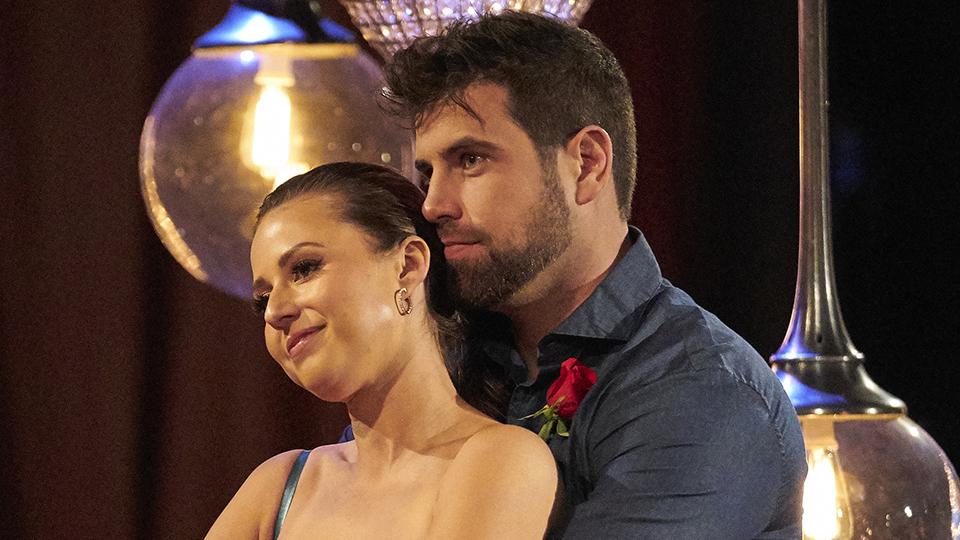 The Bachelorette and Blake dancing