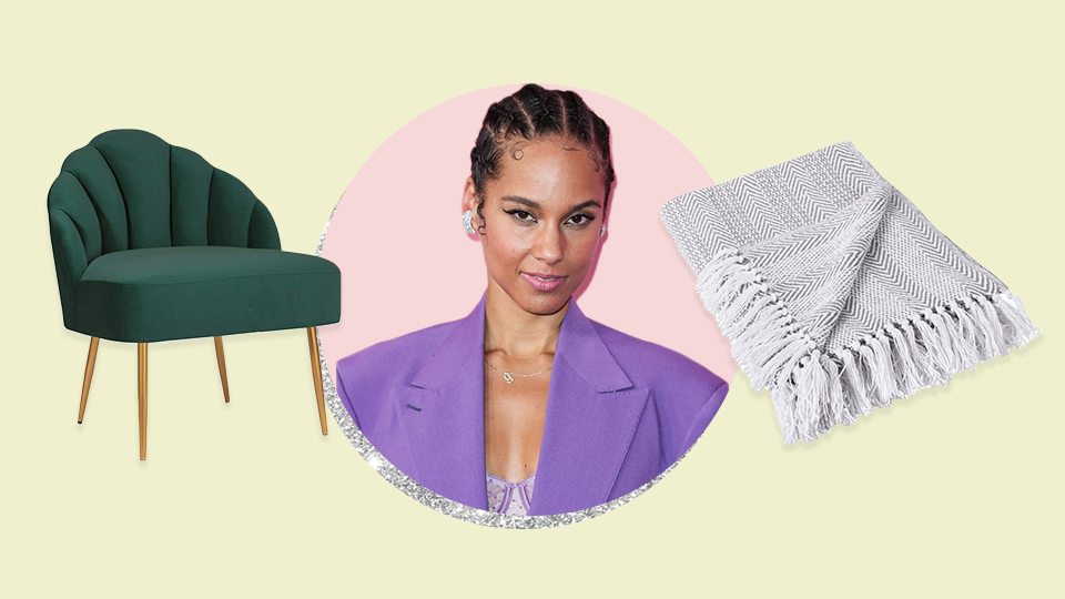 Alicia Keys Revealed Her Home Decor Must-Haves & They're All in My Budget   StyleCaster