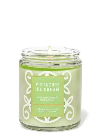Bath & Body Works. pistachio