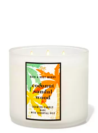 Bath & Body Works. coconut candle
