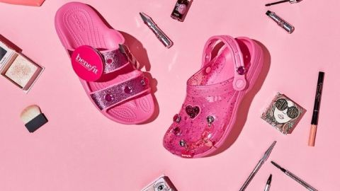 OK, But I Love The New Pink Benefit x Crocs Collab More Than I Should | StyleCaster