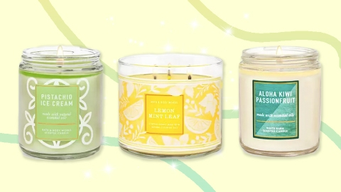 Ahem, Bath & Body Works' Best Summer Candles Are Less Than $4 RN | StyleCaster